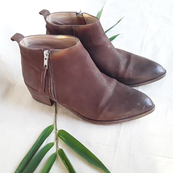firth Shoes - Firth Side Zip Ankle Boots Size 41 Made in Spain